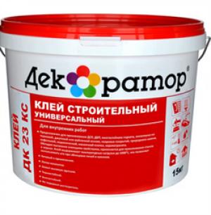 Клей для обоев водно-дисперсионный акриловый ДЕК 020 (10кг)