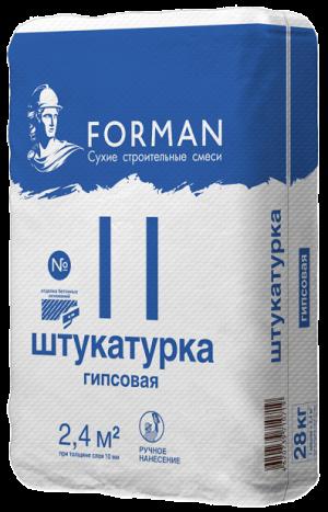 Штукатурка FORMAN 11 28кг