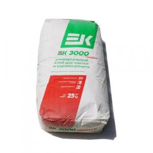 Клей Плиточный ЕК 3000 25кг